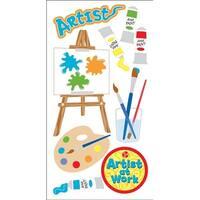 Artist - Sandylion Essentials Dimensional Stickers