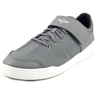 Creative Recreation Bilotti Men Round Toe Leather Gray Sneakers