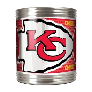 Great American Products Kansas City Chiefs Can Holder Stainless Steel Can Holder