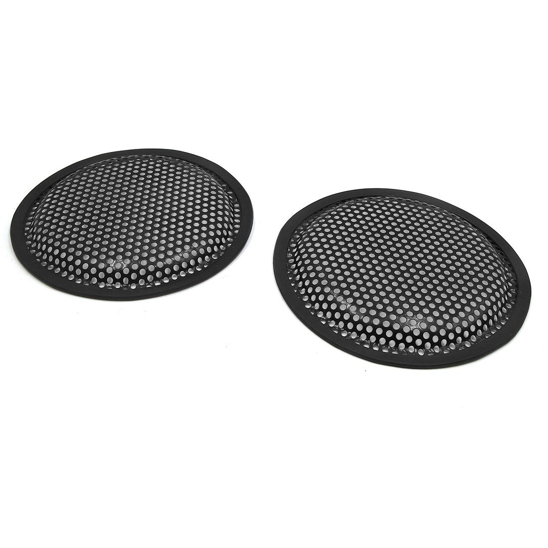 """NEW PAIR OF 6.5/"""" CAR STEREO METAL MESH SPEAKER//SUBWOOFER GRILL COVER GUARD"""