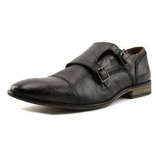 Steve Madden Agendas Men  Round Toe Leather Brown Oxford