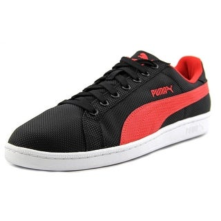 Puma Smash Ripstop Men Round Toe Synthetic Black Sneakers