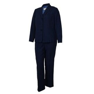 Le Suit Women's Buiness Suit Pant Set - 14W