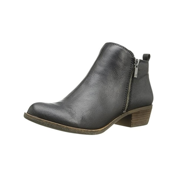 Lucky Brand Womens Basel Ankle Boots Solid