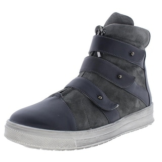 Plomo Womens Libby Leather High Top Fashion Sneakers