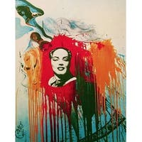 Marilyn-Mao, Limited Edition, Lithograph, Salvador Dali, First Edition Print