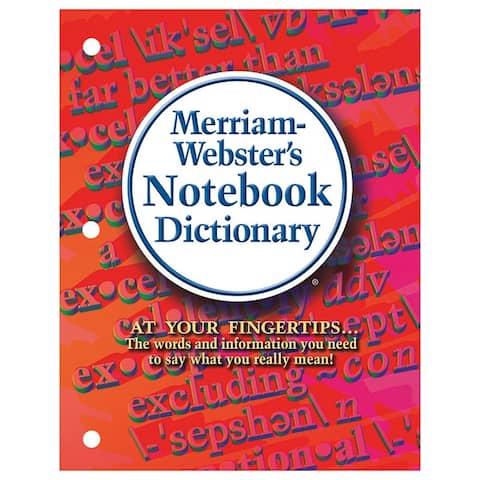 Merriam-webster (3 ea) merriam webster notebook 6503bn