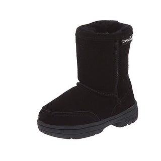 Bearpaw Boots Girls Meadow Warm Stylish Suede Wool 604T