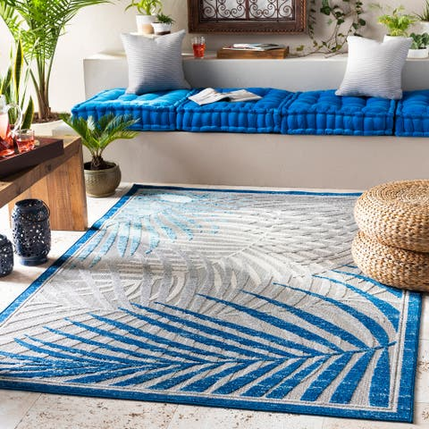 Valmont Tropical Indoor/ Outdoor Area Rug