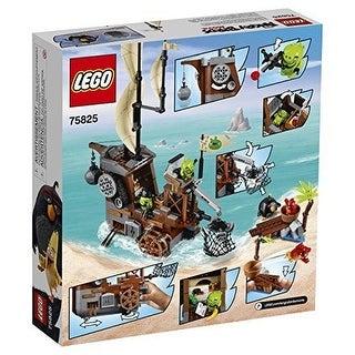 LEGO Angry Birds Piggy Pirate Ship TOY SET 75825, Kids BUILDING TOY LEGO SET