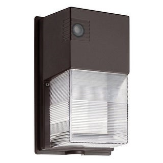 Lithonia Lighting 240HEH Wall Mount Outdoor LED Wall Pack Light, Black-Bronze