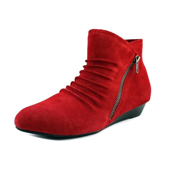 Array Cheyenne Women US 8 W Red Ankle Boot