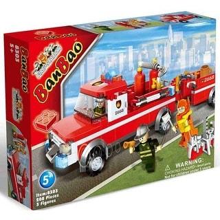 BanBao Fire-Station Building Bricks