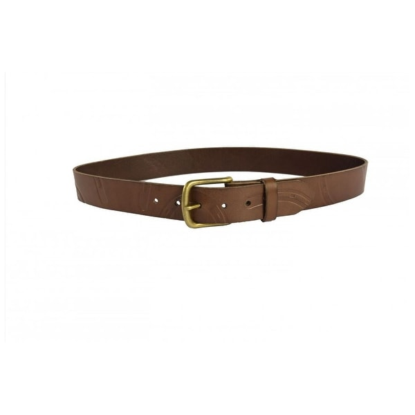 Noble Outfitters Belt Womens Pony Print Horseshoes Leather