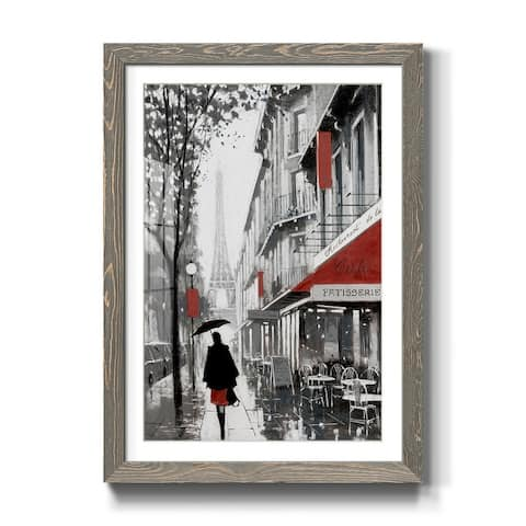 Rainy Paris II-Premium Framed Print - Ready to Hang