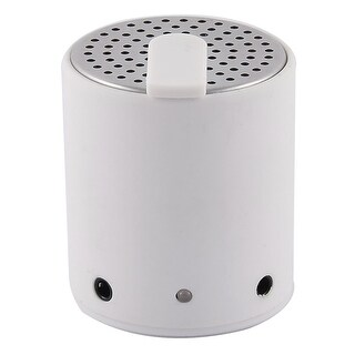Phone Laptop F001 Mini Wireless bluetooth Rechargeable Stereo Speaker White