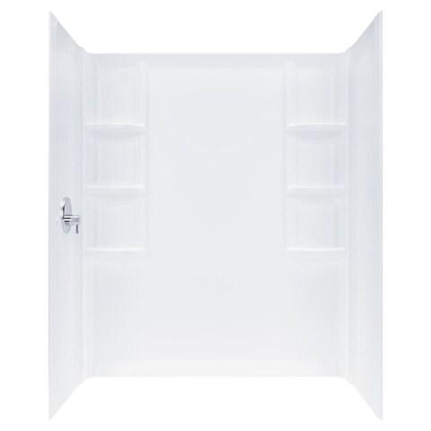 "American Standard 2946.SW Studio 72""H x 32""W Three Panel Shower Wall Set - Arctic"