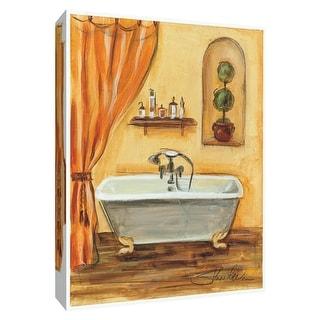 "PTM Images 9-154378  PTM Canvas Collection 10"" x 8"" - ""Tuscan Bath I"" Giclee Bathroom Art Print on Canvas"