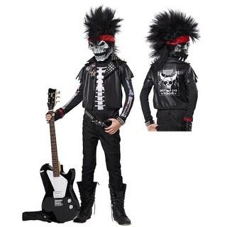 Dead Man Rockin' Boys Rock Star Halloween Costume