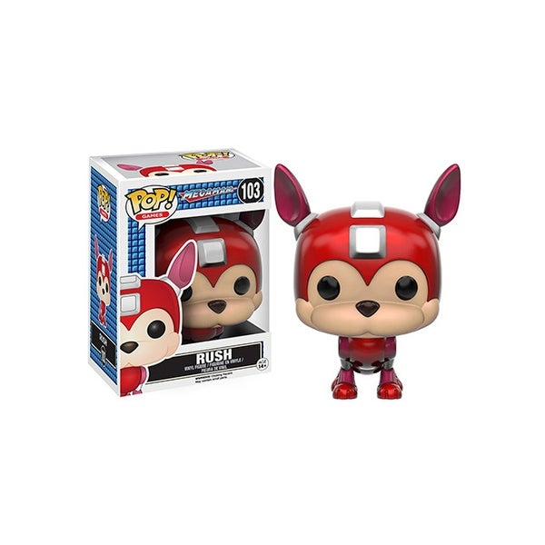 Mega Man-Rush Vinyl Figure Pop Games