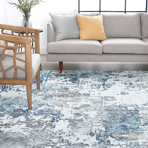 Alise Rugs Jayde Contemporary Abstract Area Rug