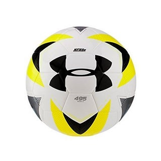 Under Armour Unisex 495 Thermal Bonded Soccer Ball, Yellow, 5 - Yellow