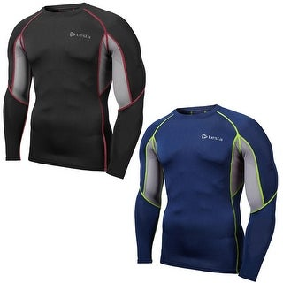 Tesla R19 Z-Series Cool Mesh UPF-50 All-Season Long Sleeve Compression Shirt