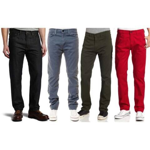 LEVI Levi's Men's 508 Regular Taper Fit Jeans - 32W X 29L