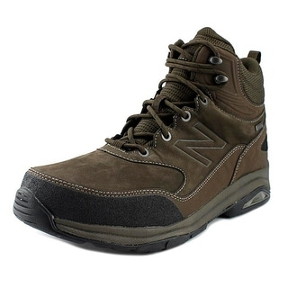 New Balance MW1400 Men 4E Round Toe Leather Brown Hiking Boot