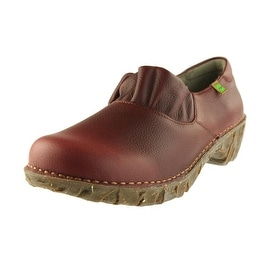 El Naturalista Womens Leather Casual Clogs - 36