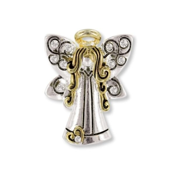 Ddi Pin- Wings And Wishes Angel For My Daughter (pack Of 28)