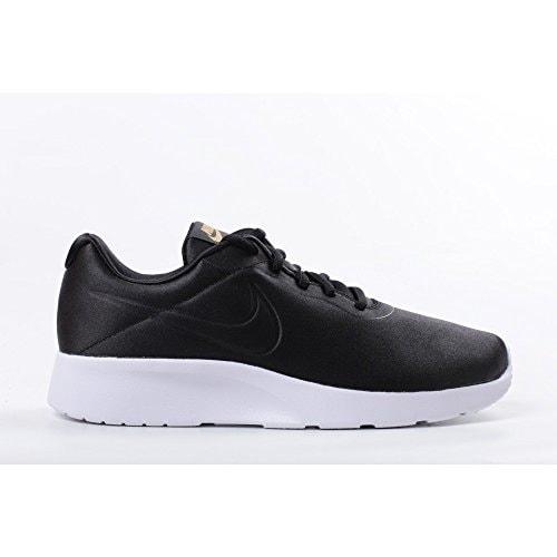 1c586b4fe587 Shop Women s Nike Tanjun Premium Shoe Black Black Metallic Gold-Anthracite  - Free Shipping Today - Overstock - 20985499