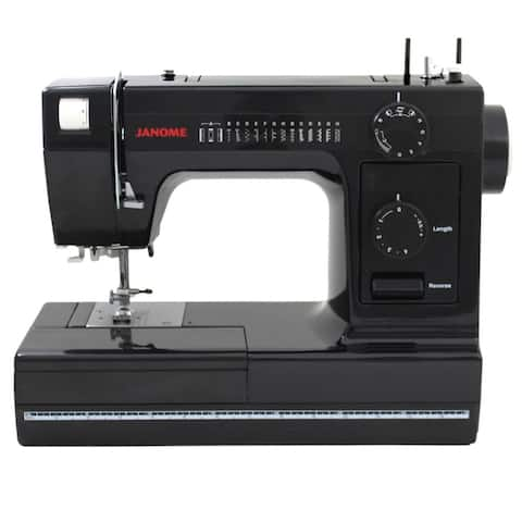 "Janome HD1000 Black Edition Sewing Machine - 15"" x 9"" x 18"""