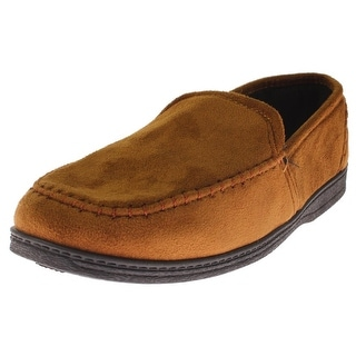 Dockers Mens Loafer Slippers Faux Suede Slip On