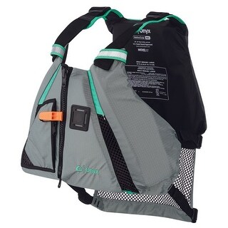 """Onyx MoveVent Dynamic Paddle SPorts Life Vest - M/L - Aqua MoveVent Dynamic Paddle SPorts Life Vest - M/L - Aqua"""