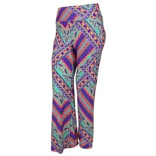 Kenneth Cole Women's Printed Desing Pants Cover ups - multi - S
