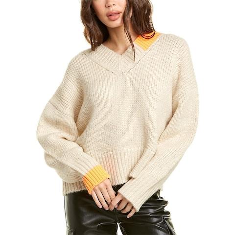 Helmut Lang Wool & Camel-Blend Sweater