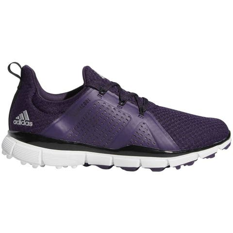 New Adidas Women's Climacool Cage Purple/Black/White Golf Shoes BB8019