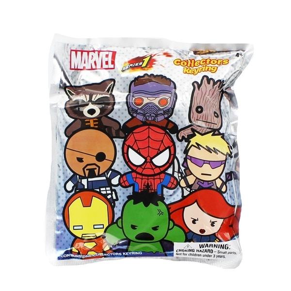 Marvel Series 1 Blind Bag 3-D Figural Key Ring - multi