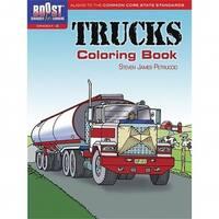 Dover Publications DP-49411X Boost Trucks Coloring Book Gr 1-2