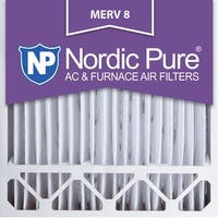 Nordic Pure 20x20x5 Honeywell Replacement Pleated MERV 8 Air Filters Qty 2