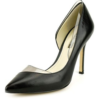BCBGeneration Tricky Women Pointed Toe Leather Black Heels
