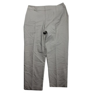 Charter Club Beige Slim-Fit Ankle Pants 14
