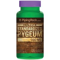 Piping Rock Pygeum Ultra Standardized 100 mg 120 Quick Release Capsules Herbal Supplement