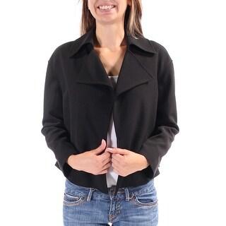 ANNE KLEIN $129 Womens New 1472 Black Suit Wear To Work Jacket 2 B+B