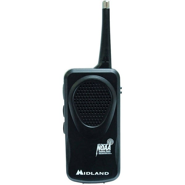 Midland Consumer Weather Radio Black