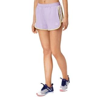 PUMA Women's Summer Reload Shorts, Purple Rose, XL