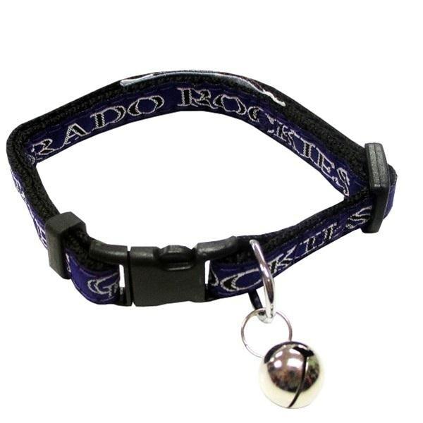 Shop Colorado Rockies Breakaway Cat Collar - Free Shipping On Orders Over   45 - Overstock.com - 20839279 266cfcb0c