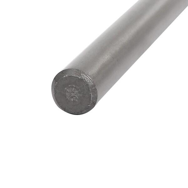 5.5mm Dia 200mm Long HSS Straight Round Shank Twist Drill Bit Drilling Tool 5pcs