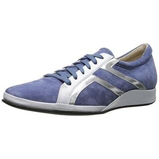 Amalfi by Rangoni Womens Ecco Suede Wedge Fashion Sneakers - 7.5 medium (b,m)